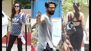 Kareena Kapoor, Shahid Kapoor And Mira Rajput Spotted Outside Same Gym!