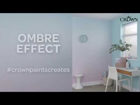 Crown Paints - How to create an Ombre effect on walls
