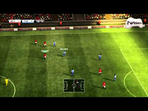 PES 2012 Gameplay - Manchester United vs FC Porto (PC, PS3, Xbox360) [HD]