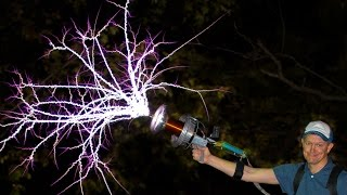 Download Handheld TESLA COIL GUN at 28,000fps - Smarter Every Day 162 Video