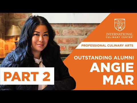 Outstanding Alumni 2018: Excellence in Culinary Arts, Angie Mar (Pt 2)