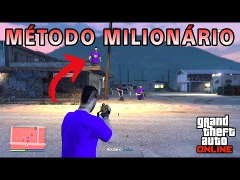Fique MILIONÁRIO SOLO fazendo essa missão no GTA 5 ONLINE