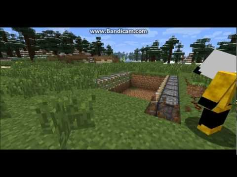 Minecraft Tutorial How to make animal/mob trap.