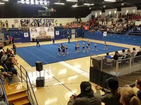 South Tahoe Vikings Jr PeeWee Cheer Competition