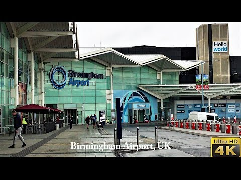 Birmingham Airport BHX, May 2018