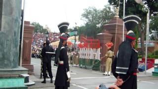 拉合尔巴印边境降旗仪式7/9/2015
