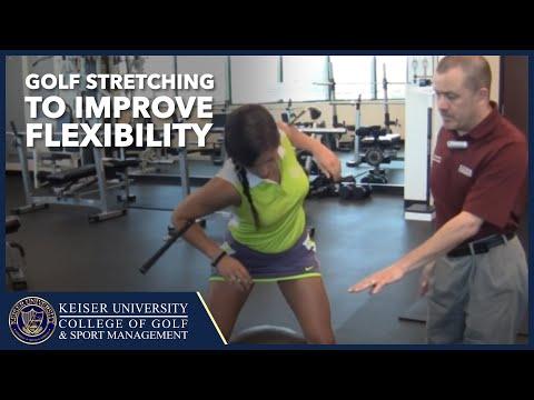 Golf Stretching to Improve Flexibility
