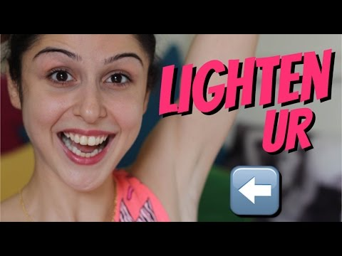 How To Lighten Dark Underarms!!!