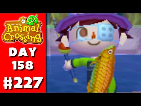 Animal Crossing: New Leaf - Part 227 - Ancient Fish (Nintendo 3DS Gameplay Walkthrough Day 158)