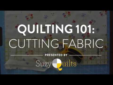 Quilting 101: Cutting Fabric