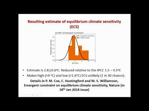 Webinar  by Mark Williamson about the paper Cox et al. Nature 553, 319–322 (18 January 2018)