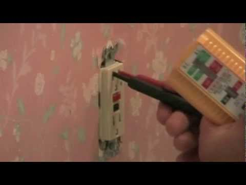 Replace GFCI wall outlet