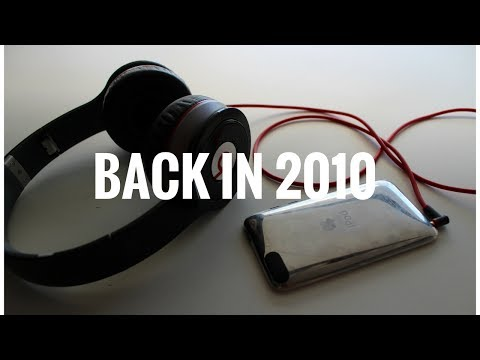 Time travel 7 years ago...(iPod touch 1st gen, beats wireless, iPod touch 4g review)