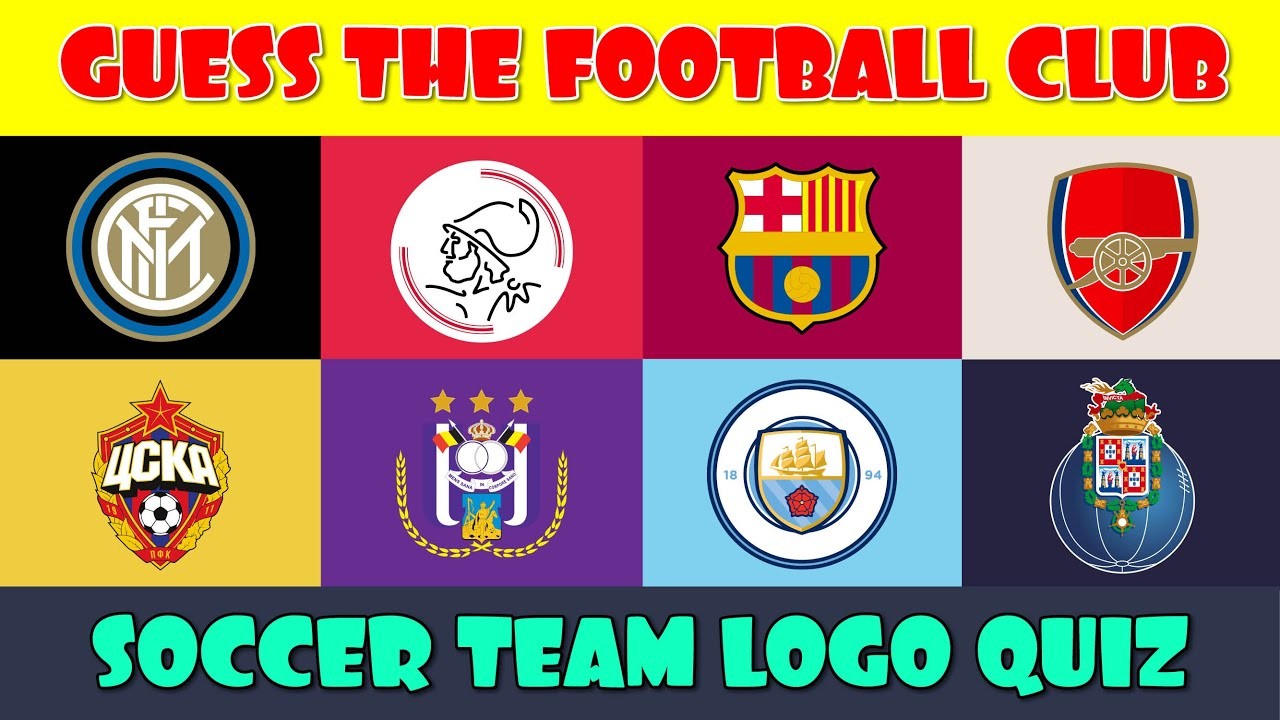 Guess the Football (Soccer) Team Logo Quiz