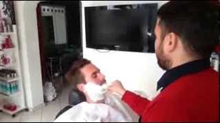 Salon Kadir Barber Shop Turkish Traditional Shave In Sultanahmet Istanbul Turkey