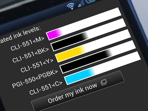 How to check my printer ink level?
