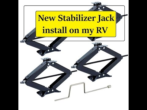 RV Stabilizer jack INSTALLATION and what to look for