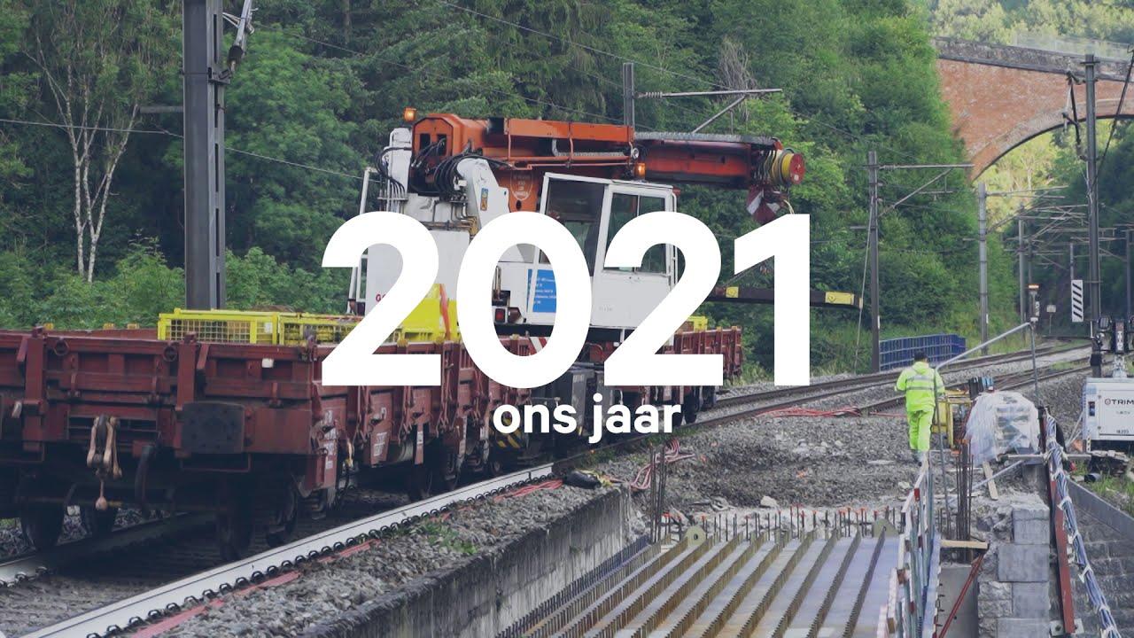 Infrabel blikt terug op 2020