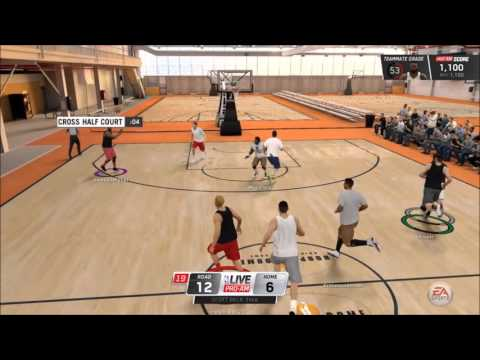 NBA Live 16 DEMO ONLINE - He cant make 3s!! - Game Winning Shot!!!