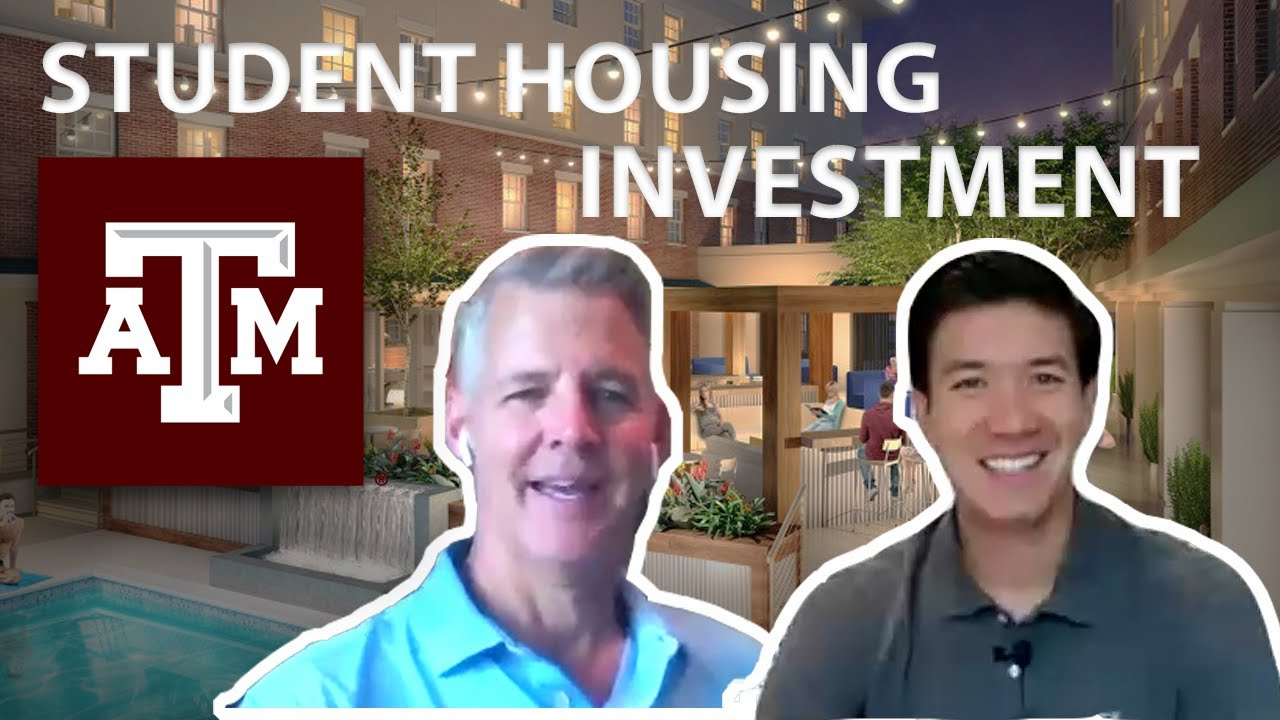 REAL ESTATE INVESTING IN STUDENT HOUSING