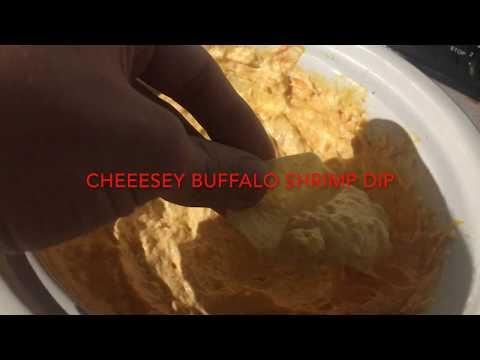 Cheesy Buffalo Shrimp Dip