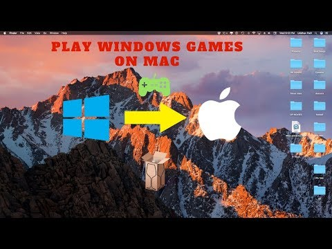 How to play pc games on mac (no bootcamp) for FREE!!!!!!!!