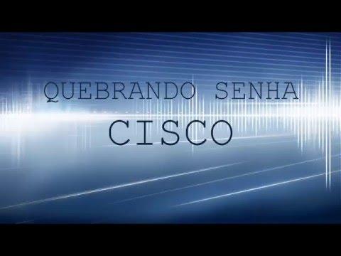 Quebrando Senha de Cisco - Recovery password Cisco router