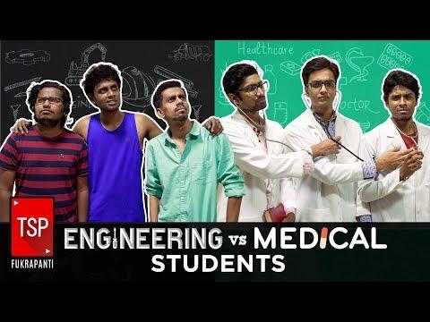 Engineering Vs Medical Students   TSP Fukrapanti