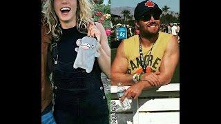 STEPHEN AMELL  / EMILY BETT RICKARDS AND  CAITY LOTZ AT COACHELLA 2017