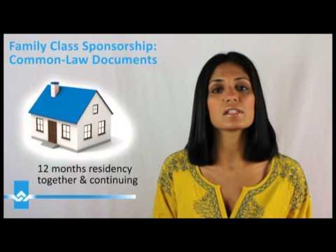 Common Law Sponsorship Documents