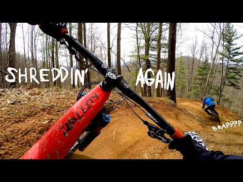BACK TO THE BIKE PARK | Riding Bailey Mountain Gravity Park in North Carolina