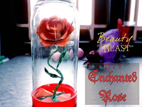 DIY Disney's Enchanted Rose: 10 EASY STEPS