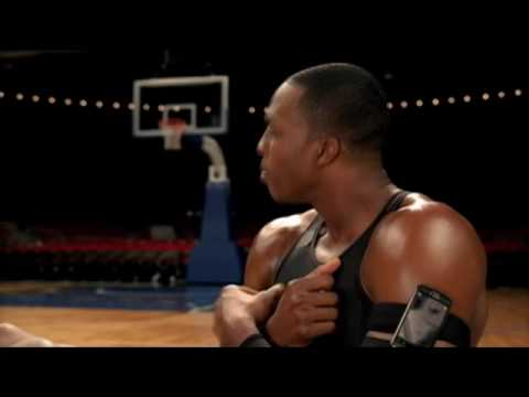 T-Mobile MyTouch 3G commercial outtakes with Dwight Howard, Charles Barkley and Dwyane Wade