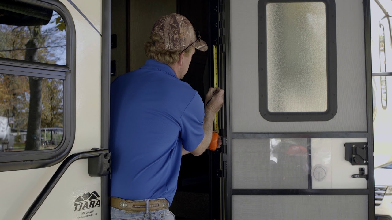 Friction Hinge Installation for RV entry door - Lippert Components