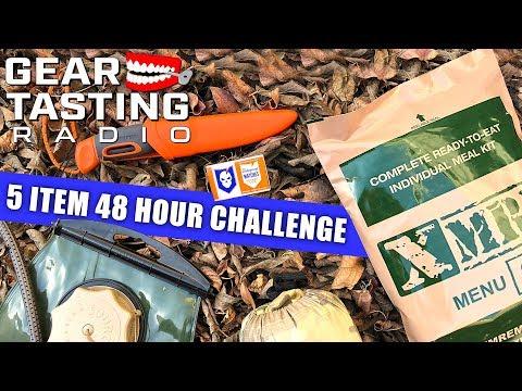 5 Item 48 Hour Challenge - Gear Tasting Radio 49