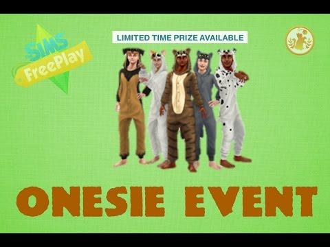 Sims Freeplay Animal Onesie Event