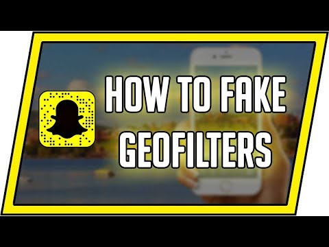 How to fake geofilters in snapchat! No Root or Jailbreak!