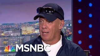 9/11 First Responder Chokes Up Recounting Stewart's 'Compassion' | The Beat With Ari Melber | MSNBC