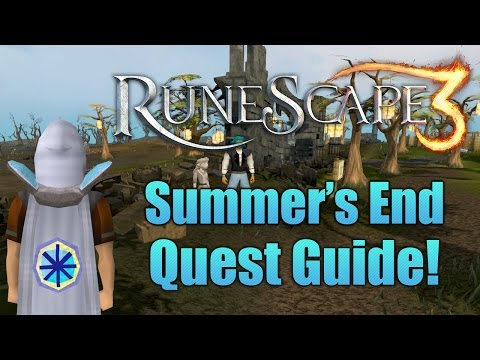 Runescape 3: The Summer's End Quest Guide 2016!