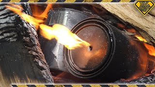 Download How To Make Charcoal (Using Stir Sticks and Paint Cans) Video