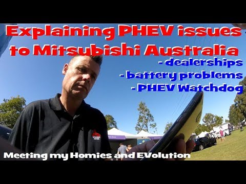 EP81 - Finally talking to Mitsubishi Australia about PHEV issues and meeting my Homies :)