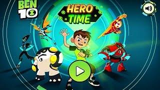 BEN 10 - HERO TIME (Chapter 1-3) - Cartoon Network Games
