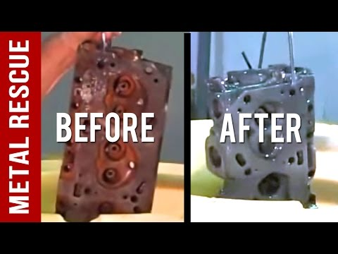 How To Remove Rust From A Rusty Engine