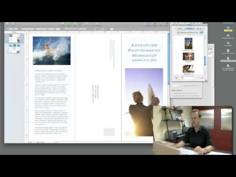 Using Apple's Pages for brochure creation