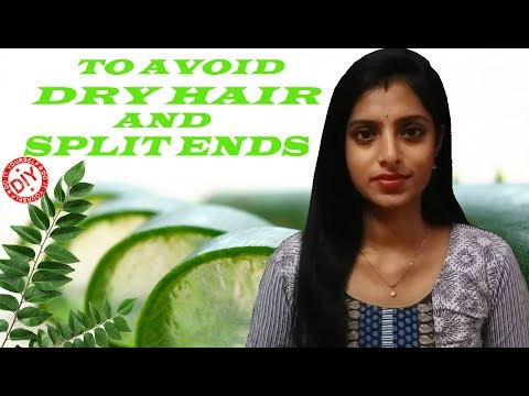 INSTANT HAIR PACK TO AVOID DRY HAIR AND SPLIT ENDS | SILKY HAIR | SMOOTH HAIR| STRONG HAIR