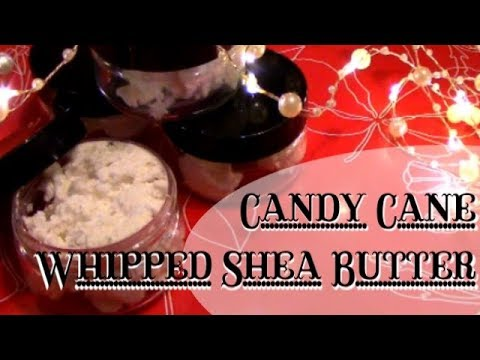 DIY Candy Cane Whipped Shea Butter
