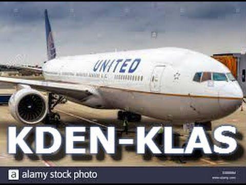 Vatsim | PMDG 737 | United Airlines | KDEN-KLAS