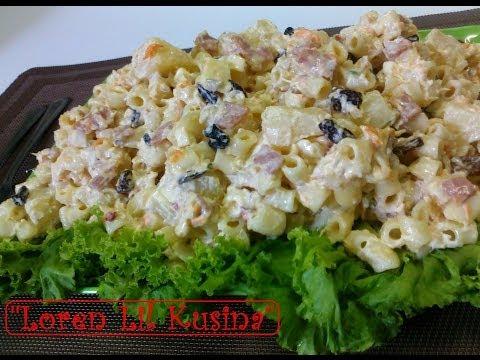 MACARONI CHICKEN SALAD - Homemade