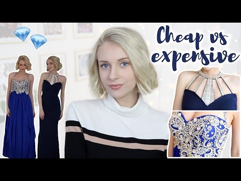 CHEAP vs. EXPENSIVE PROM DRESSES! How Much Should You Spend?