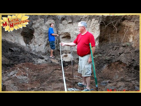 Laying the Foundation | Underground Earthbag Building Ep 1 | Weekly Peek